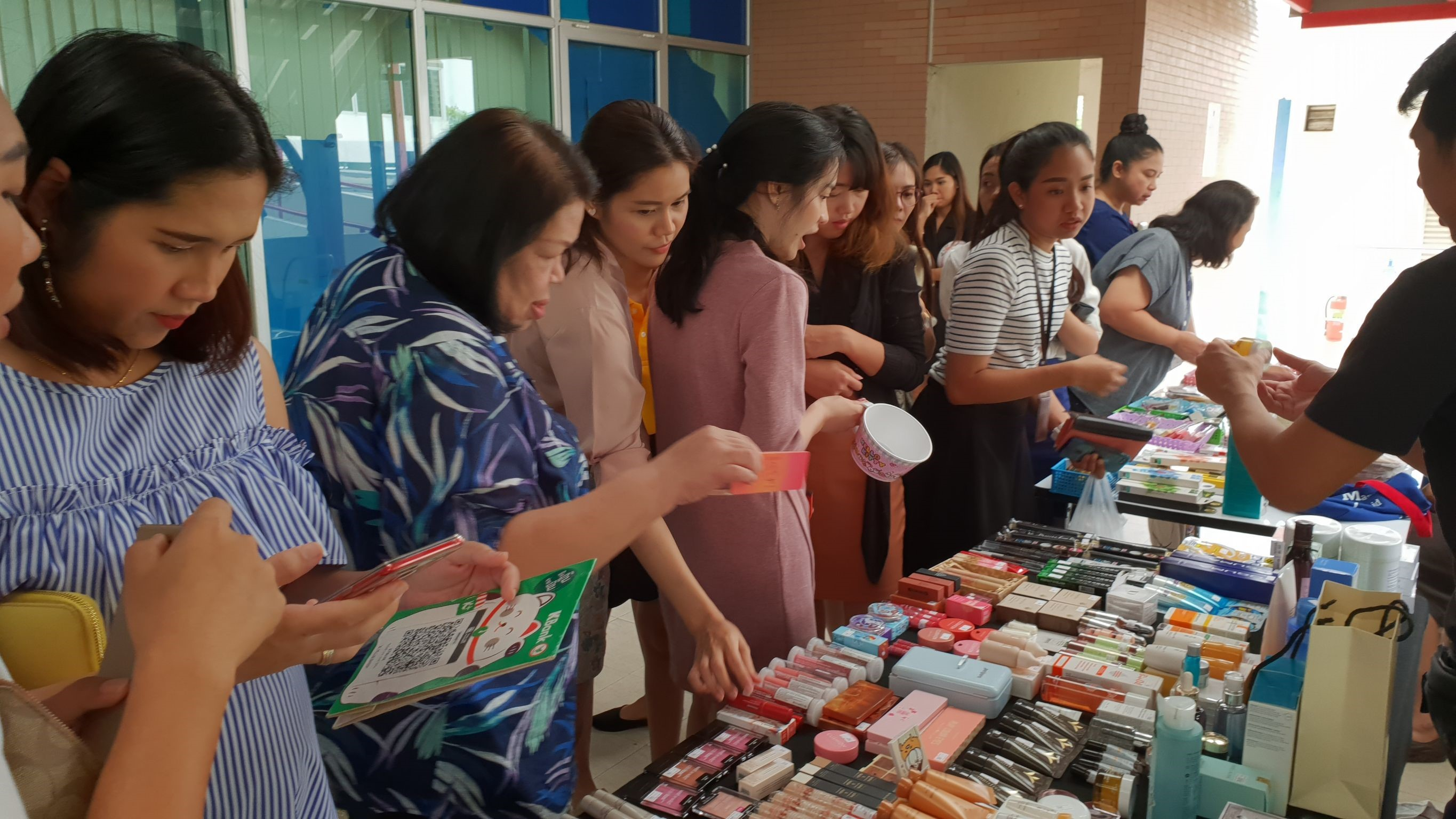 MRTA flea market of October 2018